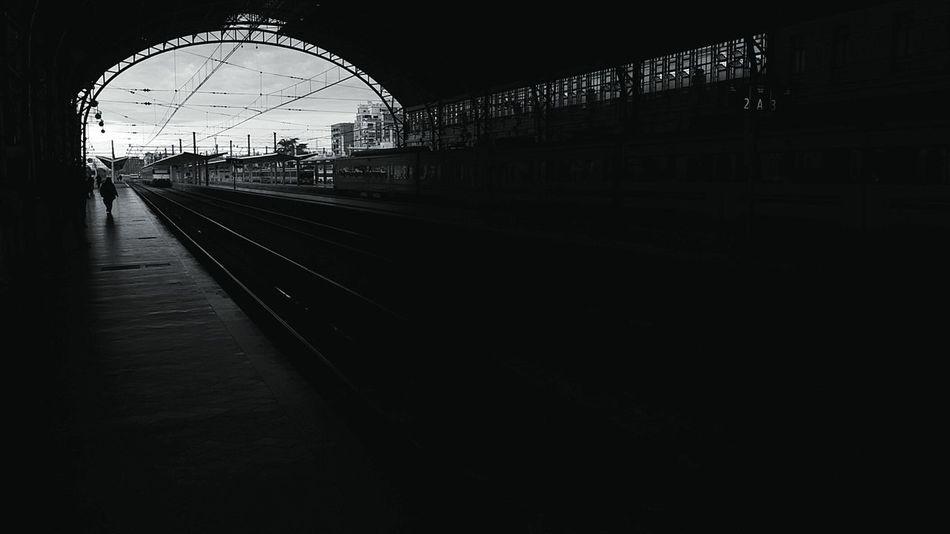 Estación del Norte, Valencia.Streetphotography Blackandwhite Hi!B&w Street Photography Train Station València Taking Photos Tren