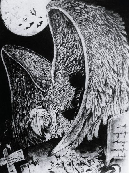 Creativity Blackandwhite Drawing Sketch Wings ArtWork Riot Demon Ghost Angel Reborn Wings Spread Wing Wings Of Freedom Close-up Day Messy
