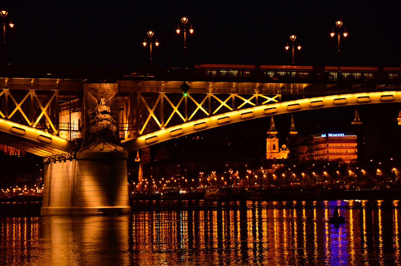 Architecture Bridge Built Structure City Development Engineering Margit Hid Street Light Urban