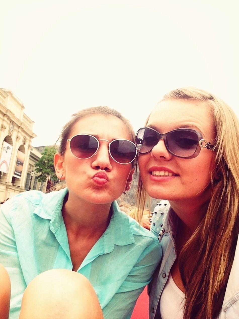 Enjoying Life Bestfriend Visiting Vienna I Love Vienna
