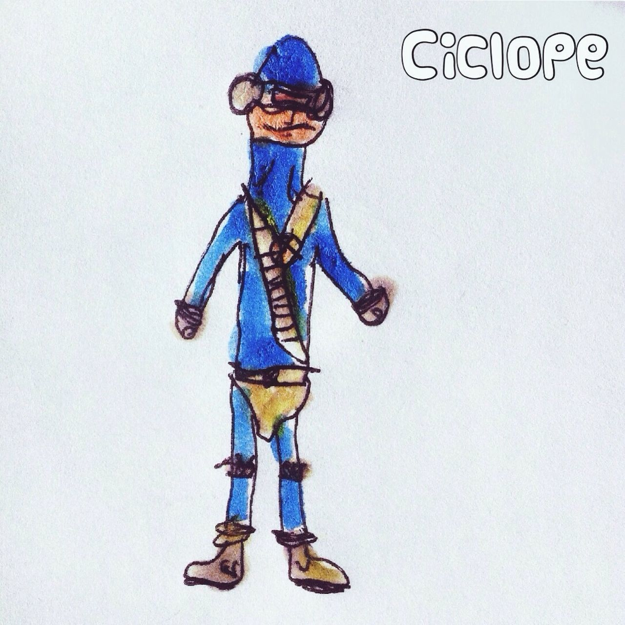 Cíclope by Unax Superheroes Drawing Kids