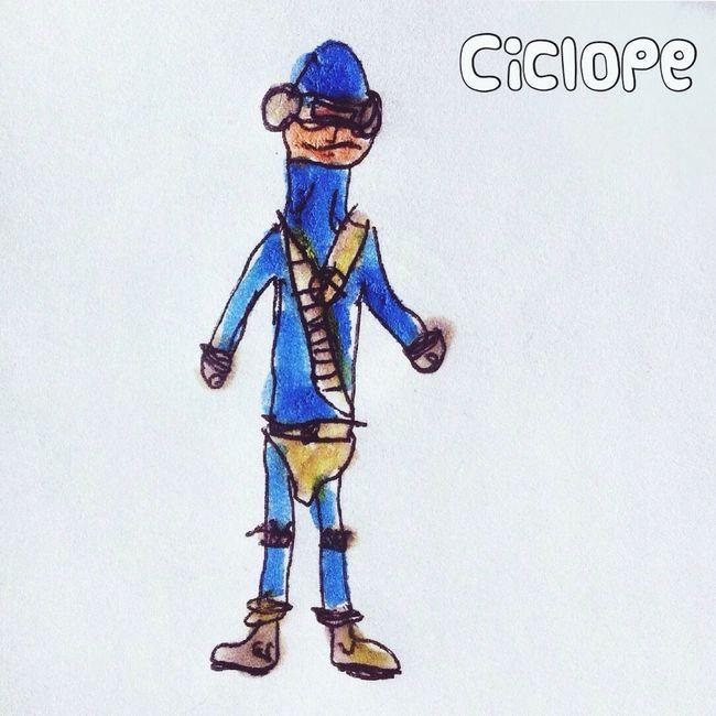 Cíclope by Unax Superheroes Drawing Kids