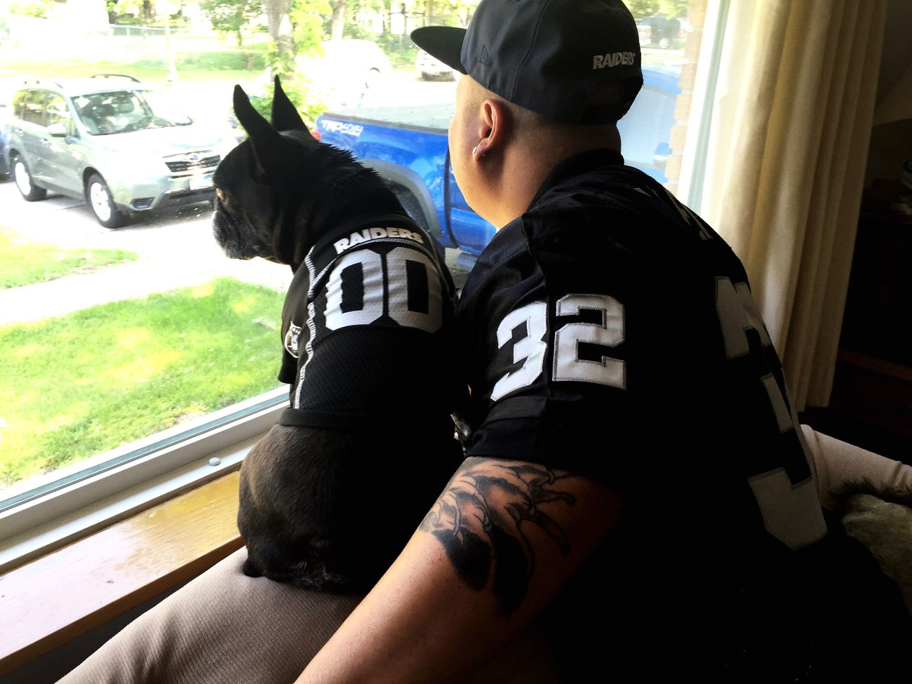 RaiderNation Frenchbulldog Oakland Raiders Frenchie