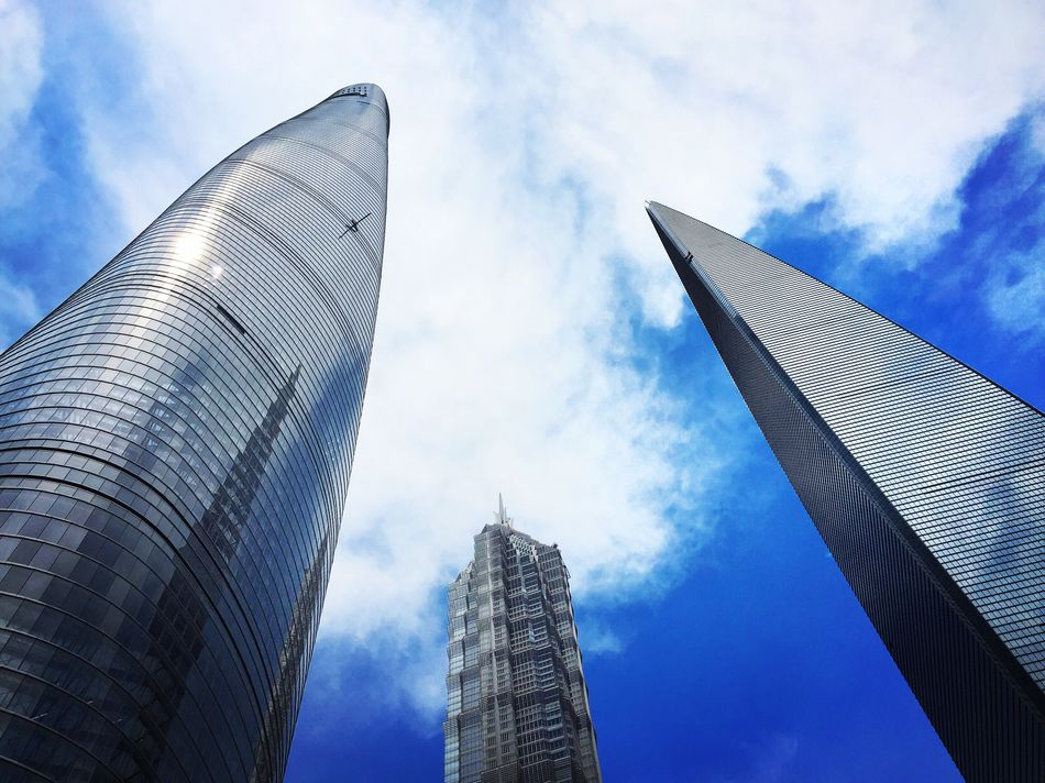 When the big boys come out to play ☀️ Shanghai Shanghai, China China Architecture