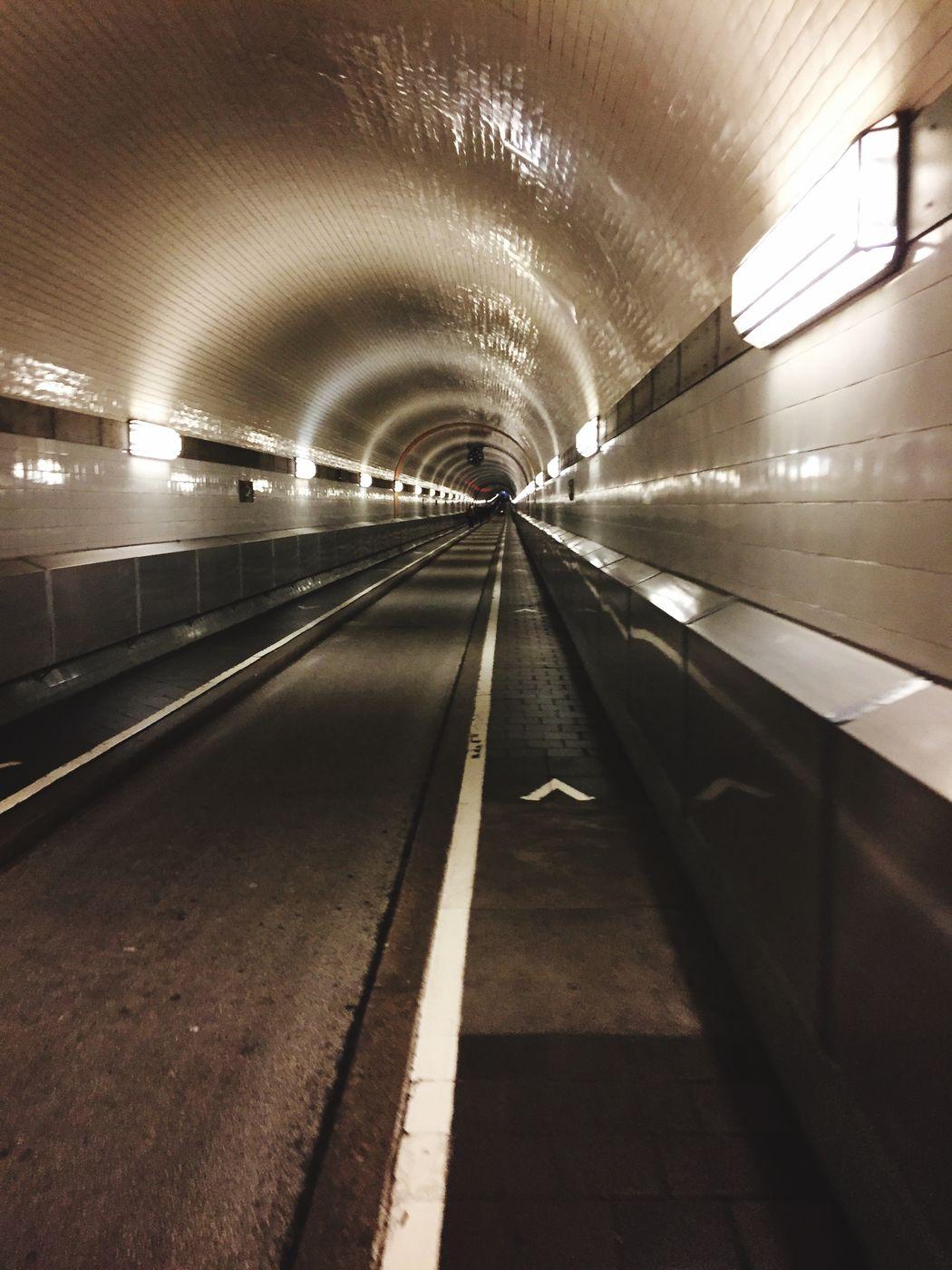 Tunnel (Elbe) Elbe Tunnel Shot Great Darf