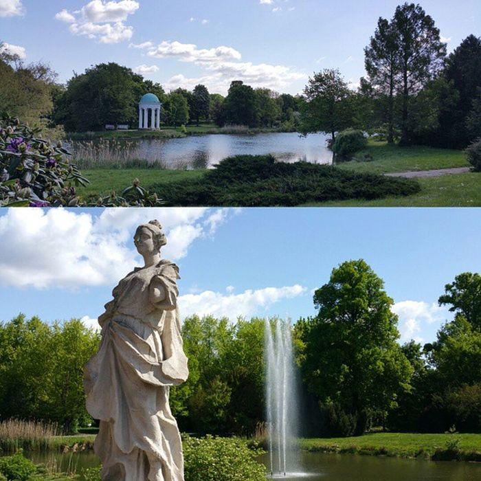Das erste Bild mit der neuen App von Instagram - Layout . Neu natürlich nur für uns Android -Nutzer ;) Frühling Wasser Kunst Lifeisgood Agra Leipzig Markkleeberg Park Natur Nature