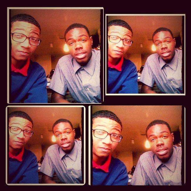 Me N My Brother Nones Look Alike Lol