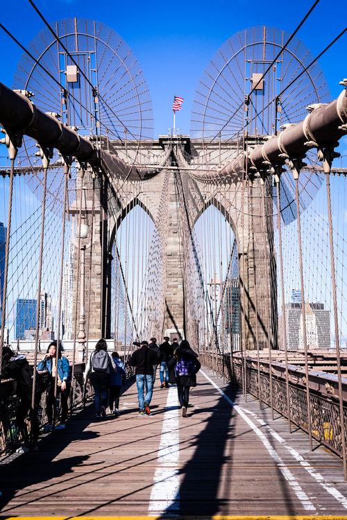 Bridge Pillar Tourism New York NYCImpressions Nycphotography NYC Photography NYC Bridge Photography Metropolitan Brooklyn Bridge  Bridge Metropole Travel Destinations City Life City Steel Bridge