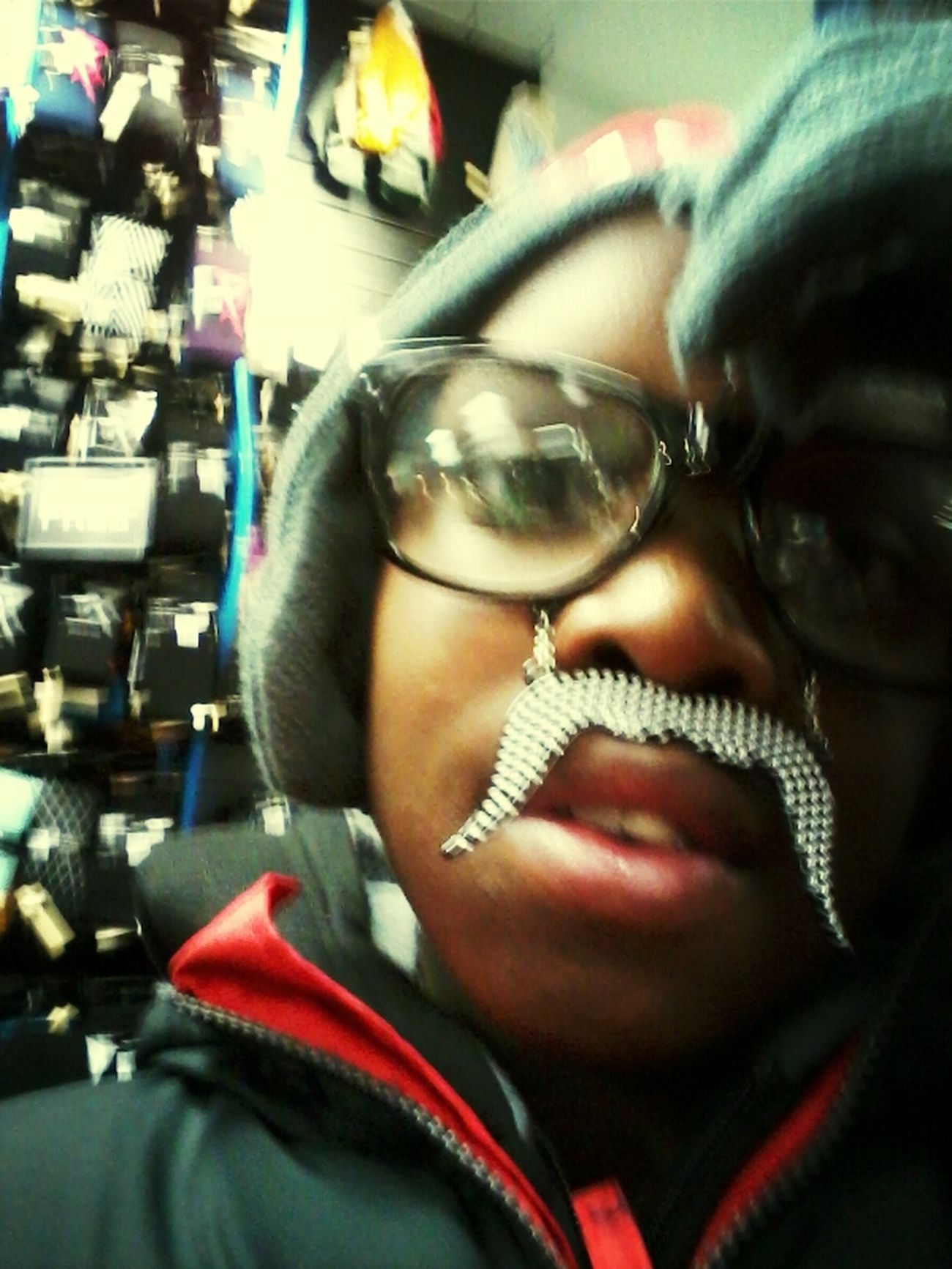 At Rue21 Being Goofy