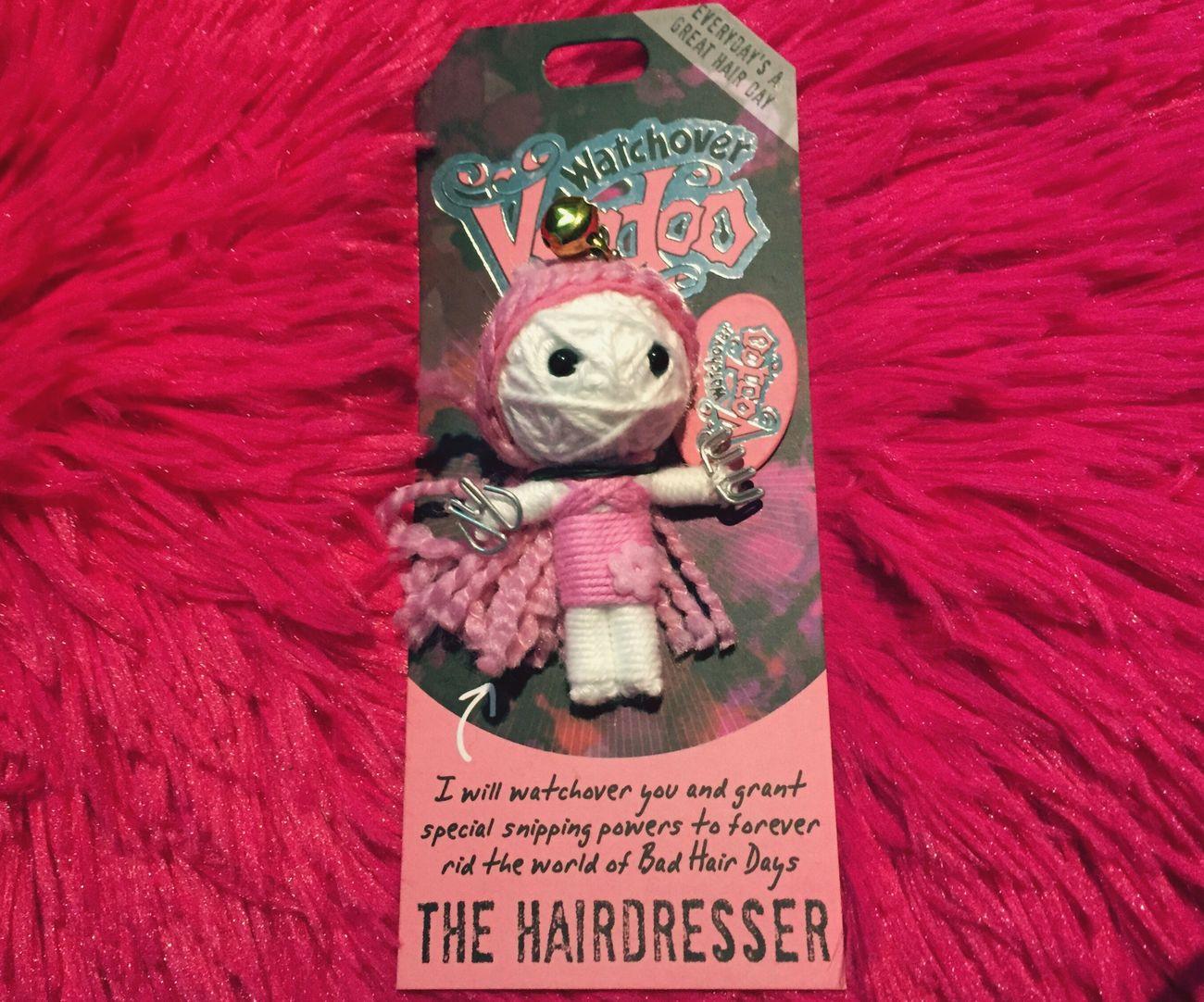 Love my little voodo I got Hairdresser Hairstylist Cute