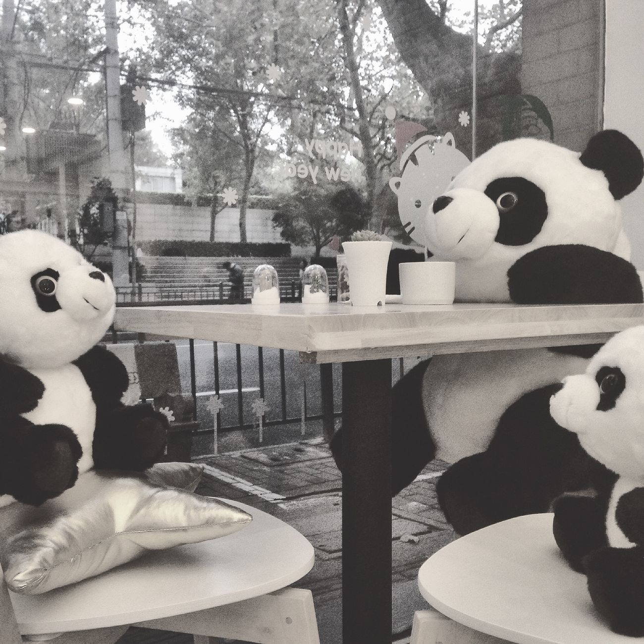Afternoon Tea party for three Pandalove Shanghai, China