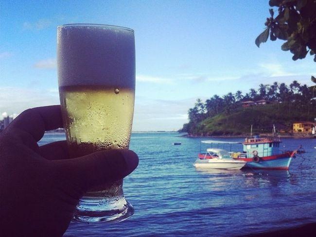 Só observo e brindo a Rainha do Mar, odoiyá Iemanjá Iemanja RainhaDoMar Ilhéus Cerveja