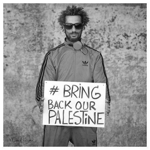 Le frère Kamel pour la Liberté et Sécurité pour le peuple de Palestine. BRAV' BRINGBACKOURPALESTINE - Nakba Photographie - Miloud Kerzazi - @Sous-France