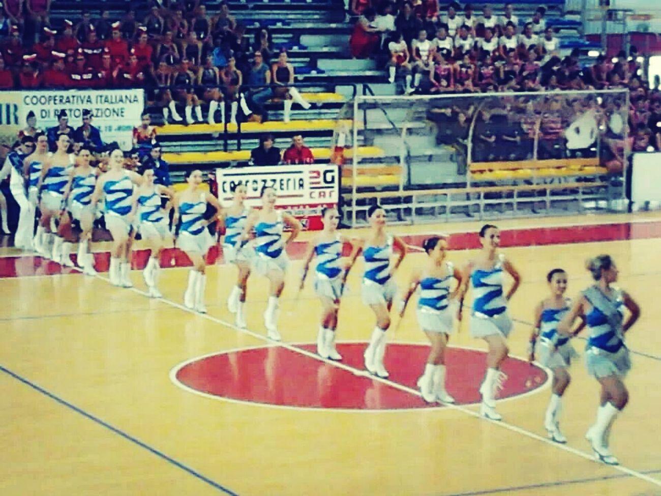Majorettes  BlueTwirling Unica Passione.∞