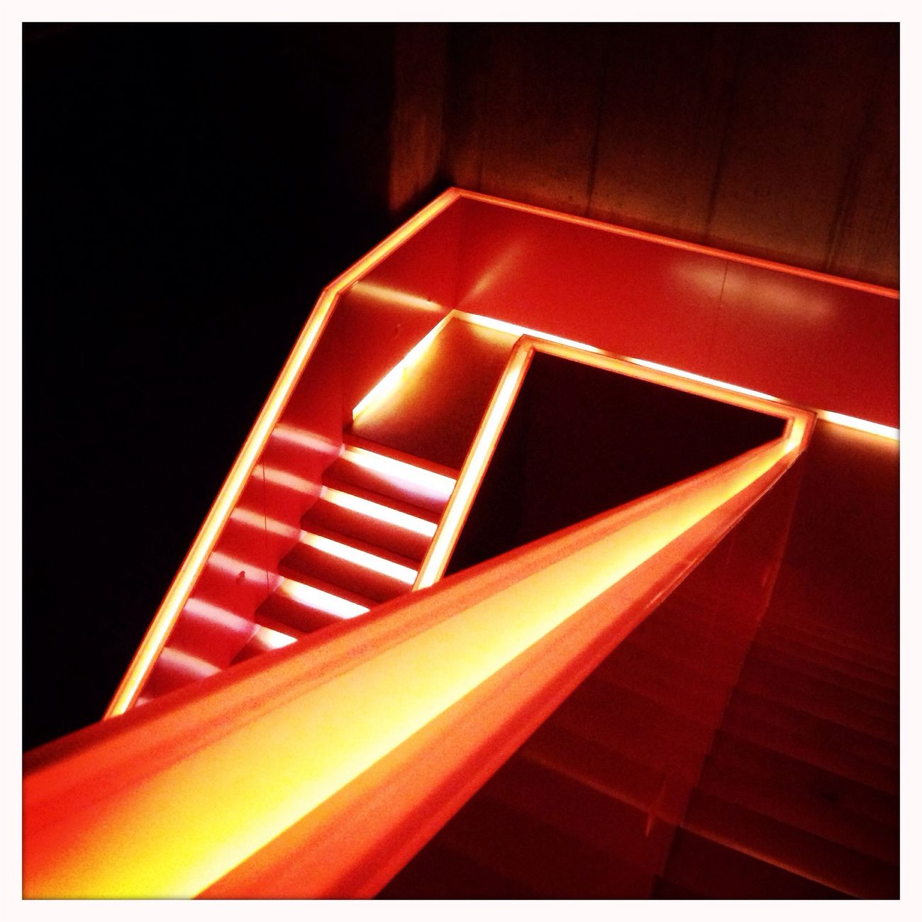 Architectural Detail Minimalism Minimalobsession Oranksch Orange By Motorola Stairways Overnight Success