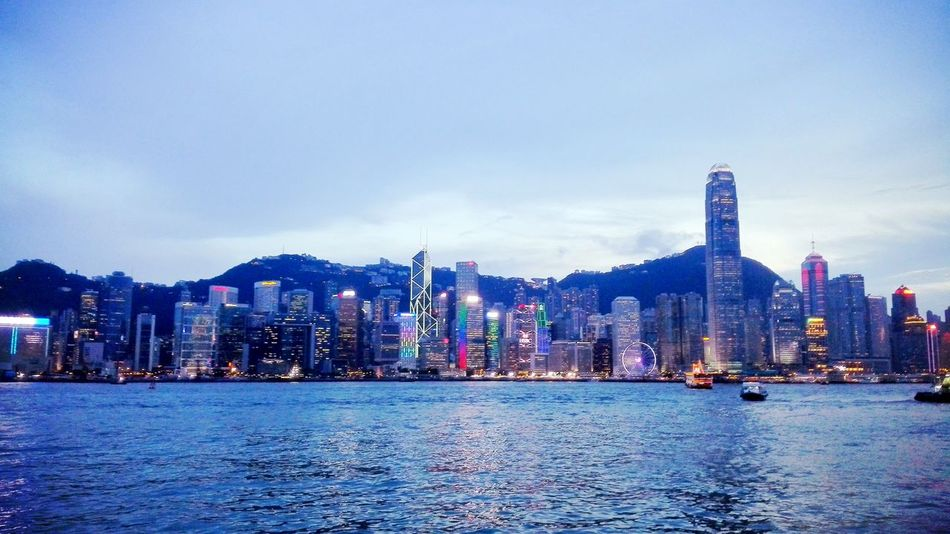 Hong Kong Victoria Harbour '15