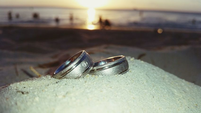 Honeymoon Wedding Sunset Love Beach EyeEm Selects
