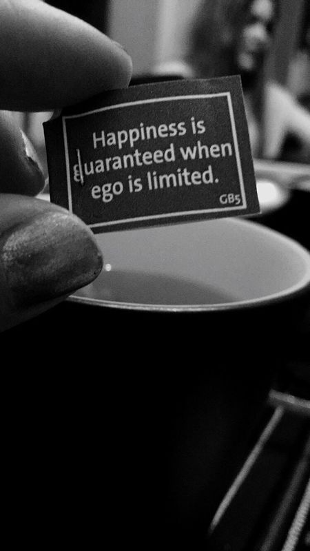 Truth Yogitea Quote Happiness True That Ego Words Of Wisdom... Advice