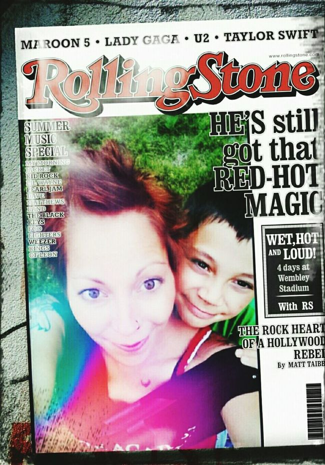...on the cover of the rolling stone... Rolling Stone Magazine Magazine Cover Being Silly :) Pipe Dreams Dreamin' Dreams Fame Famous People Hello World Grunge Gurl Sammy And Mommy Androidography Rock'n'Roll Grunge