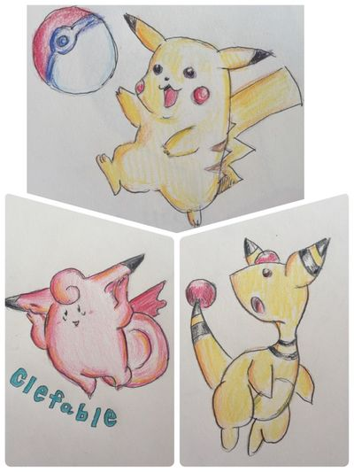 Pokémon MyDrawing Illustration Drawing ポケモン Taking Photos Check This Out Pokedraw