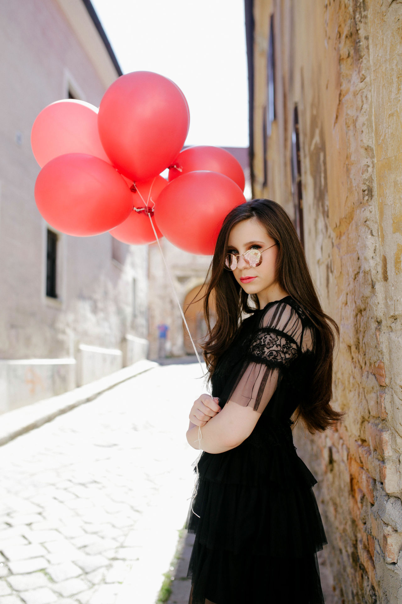 Balloons Beauty Fashion Girl Lifestyles Portrait The Portraitist - 2017 EyeEm Awards Woman