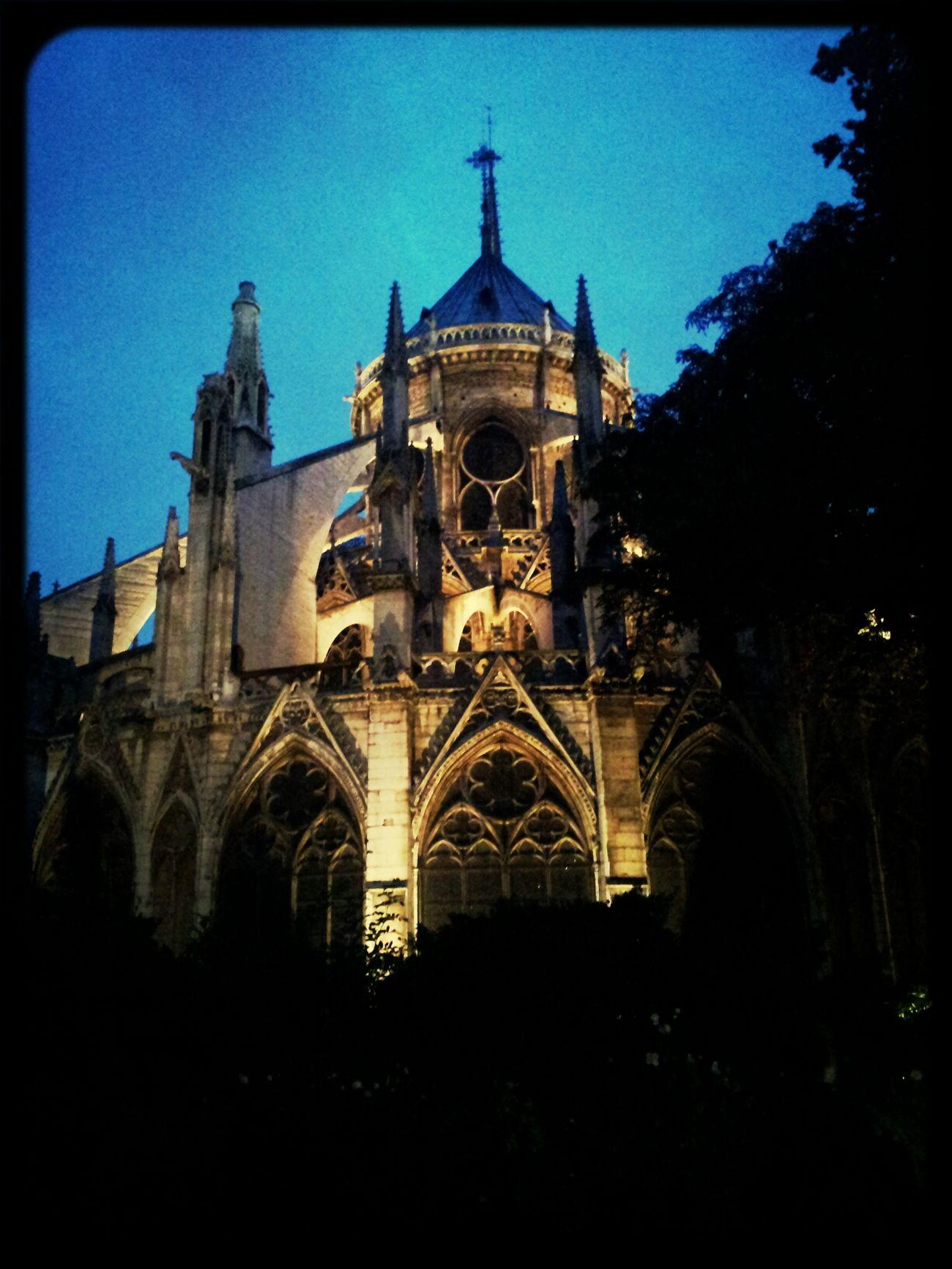 Notre-Dame Paris Tourist Great Views