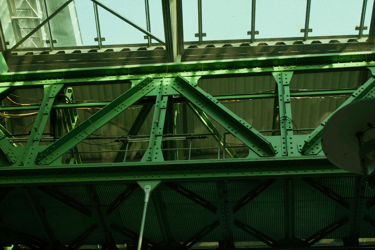 Architecture Bridge - Man Made Structure Building Exterior Built Structure City Close-up Day Girder Low Angle View Metal No People Outdoors Sky Transportation
