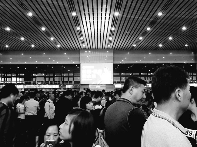 People And Places Blackandwhite Photography Person Lifestyles Journey City Life Travel Beijing, China Monochrome Photography