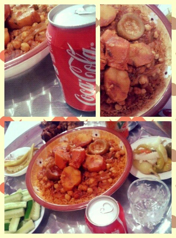 غدانا رز امسقي :D Libyan Rice Lunch at Home in Azzawya #Libya
