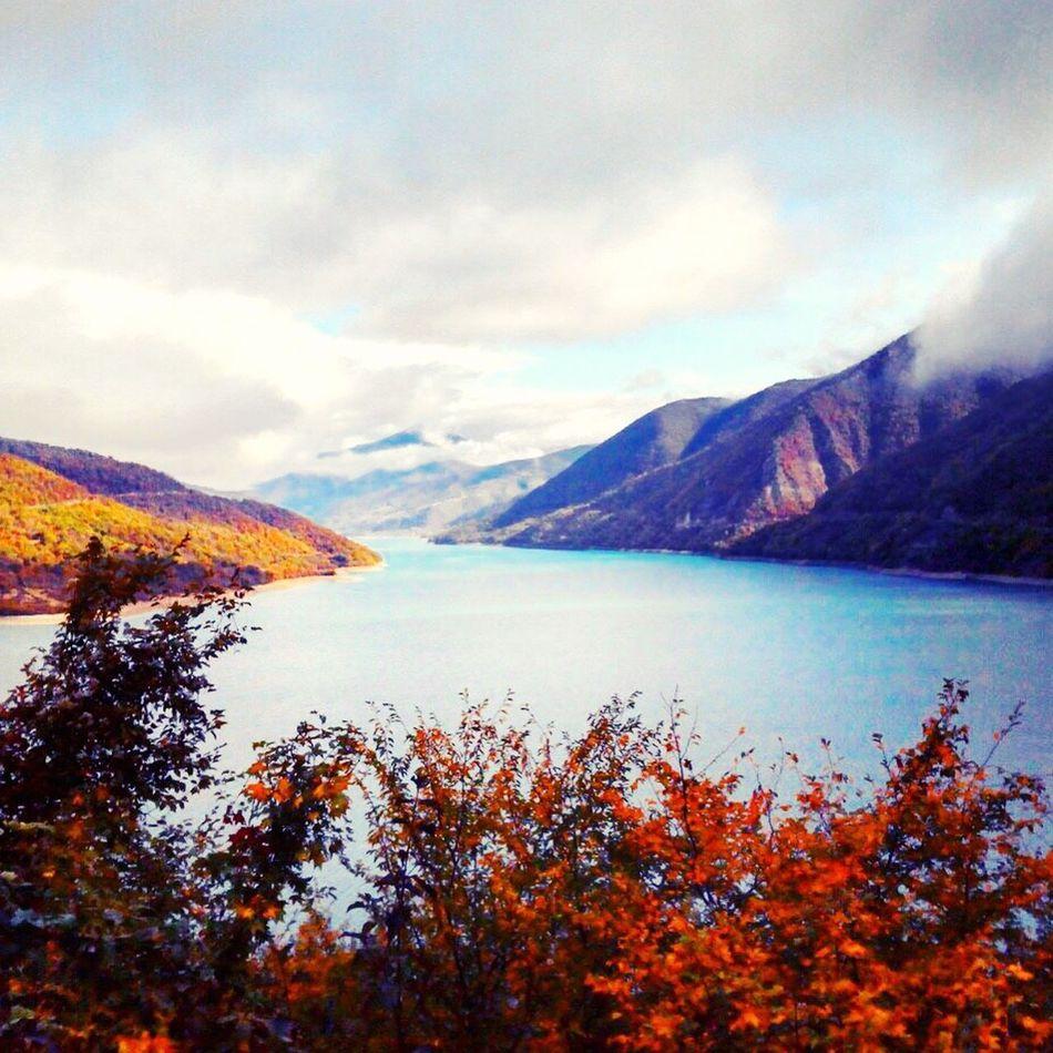 Mountain Sky Nature Beauty In Nature Scenics Outdoors Landscape Mountain Range Lake საქართველო♥ საქართველო Sun Georgia Sakartvelo Saqartvelo Boarder No People Water Day Scenery EyeEmNewHere EyeEmNewHere Millennial Pink