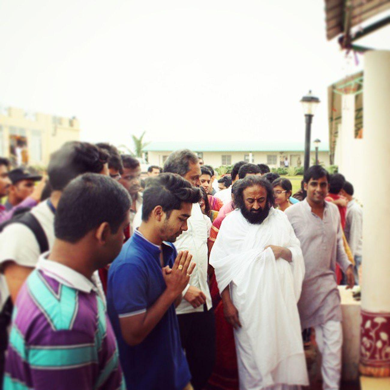 ThankYouSriSri SriSriUniversity SriSriRavisankar Guruji blessed