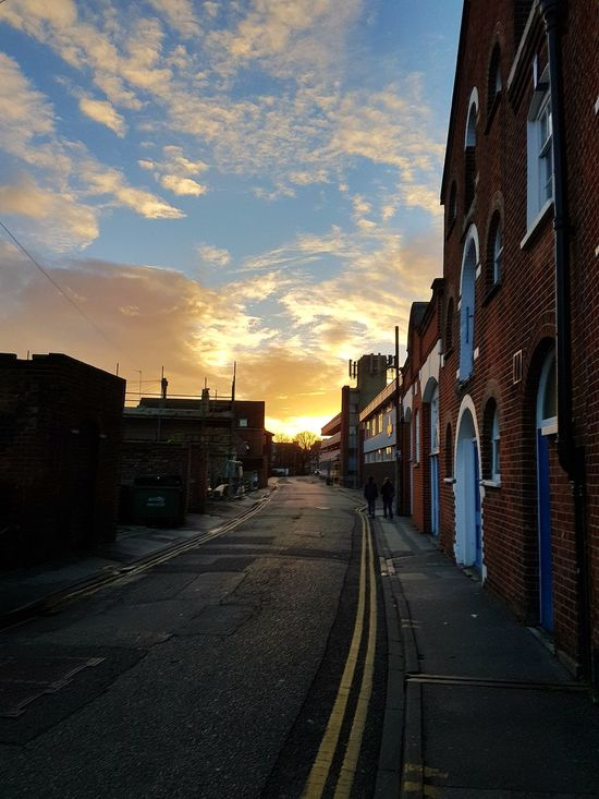Sunset Street The Way Forward Sky Road Poole, Dorset Check This Out Taking Photos Besteyemphoto Relaxing