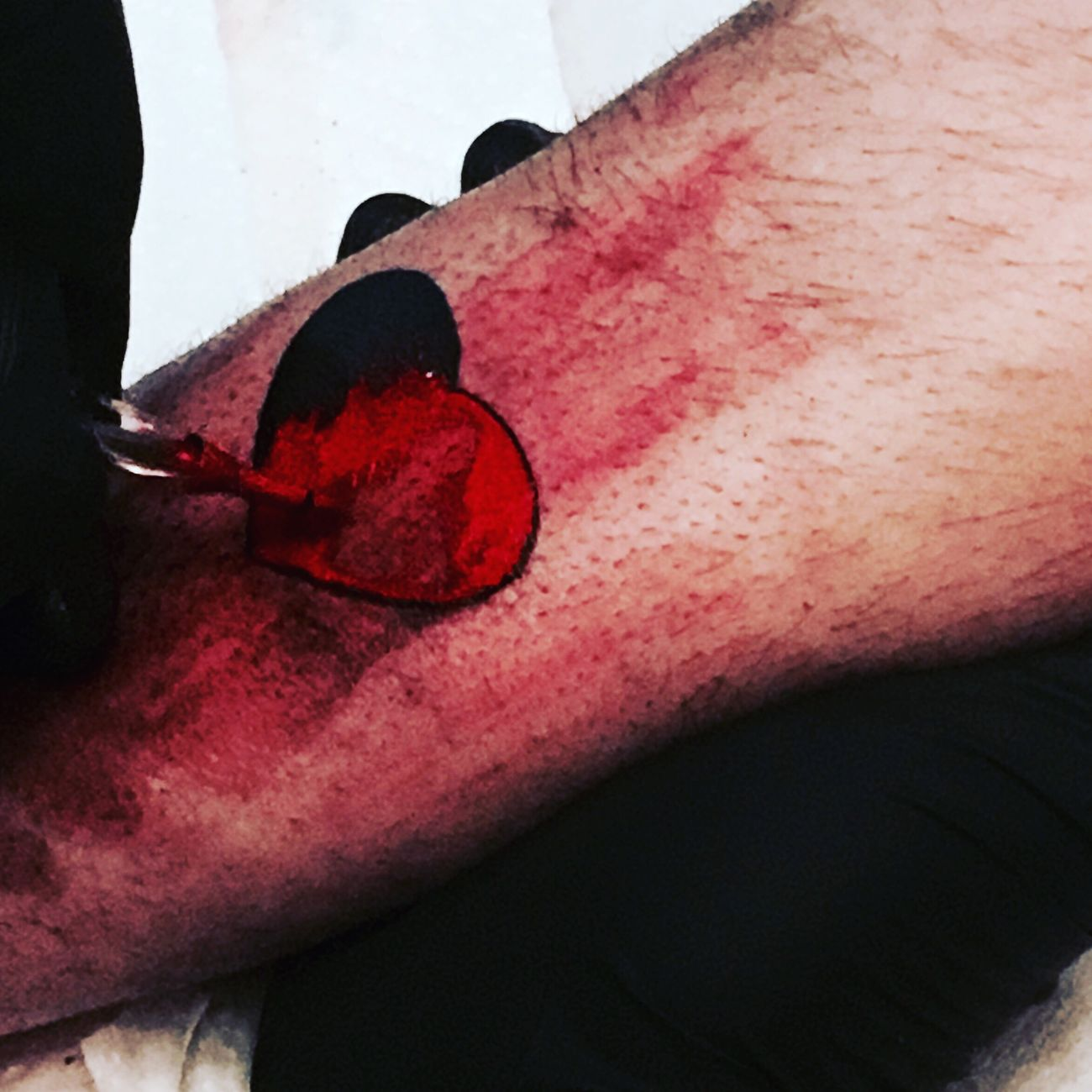 Getting ink-hearted Red Close-up Heart Tattoo Tattoos Black Arms Inked My Style Fashion Fashionable Gothic Style Emo Blood Tatuaggio Ink361 Ink Heart ❤ Heart Shape Inkedgirls Inkedlife Tattooed Live Process I Am Perry