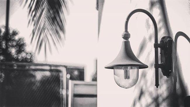 Monochrome Lamp Lamppost Picture Photo CameraMan Photographer Fujifilm Fujixe1 Fujithailand Xe1 Lens Manuallens Cannon Canonfd50mm Canonfd50mmf1_4 50mm F1_4 50mmlens Bangkok Thailand Lonely Bokeh