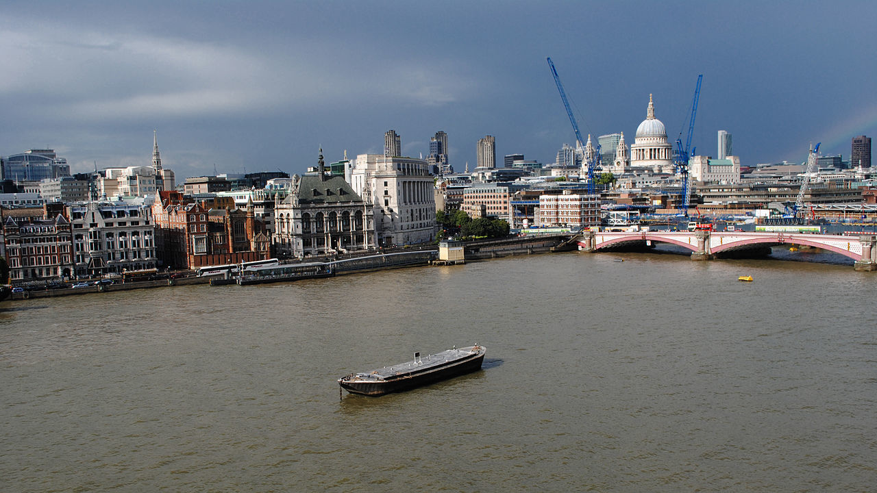 Mid Distant View Of St Paul Cathedral Against Sky