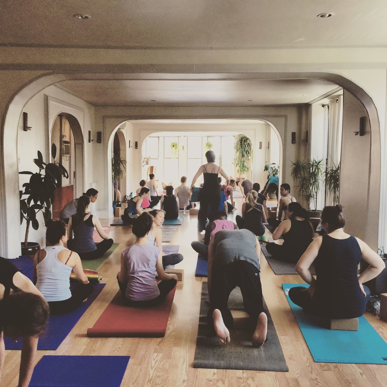 Namaste Yoga New York Exercise Sweating Interior Views