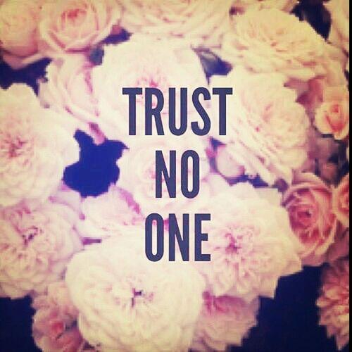 Trust No Man Trust Nobody