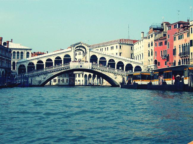 Rialto Bridge Venice Canals Venice, Italy