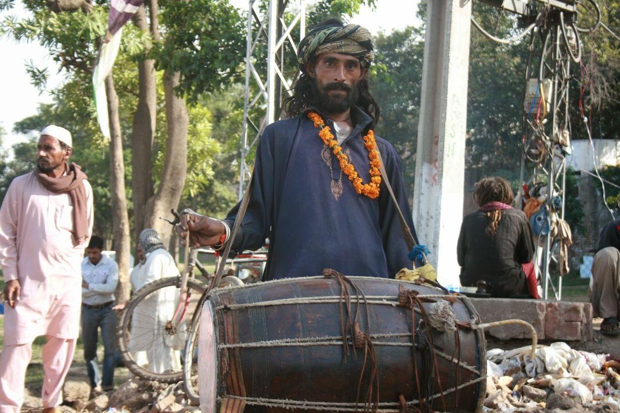 Lahore Lahorefort Dhol Portrait