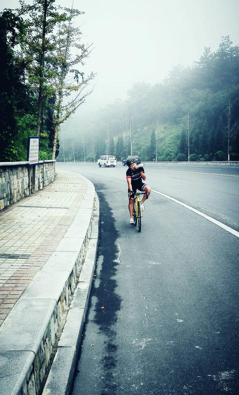 Roadbike Hello World Relaxing Self Poitrait
