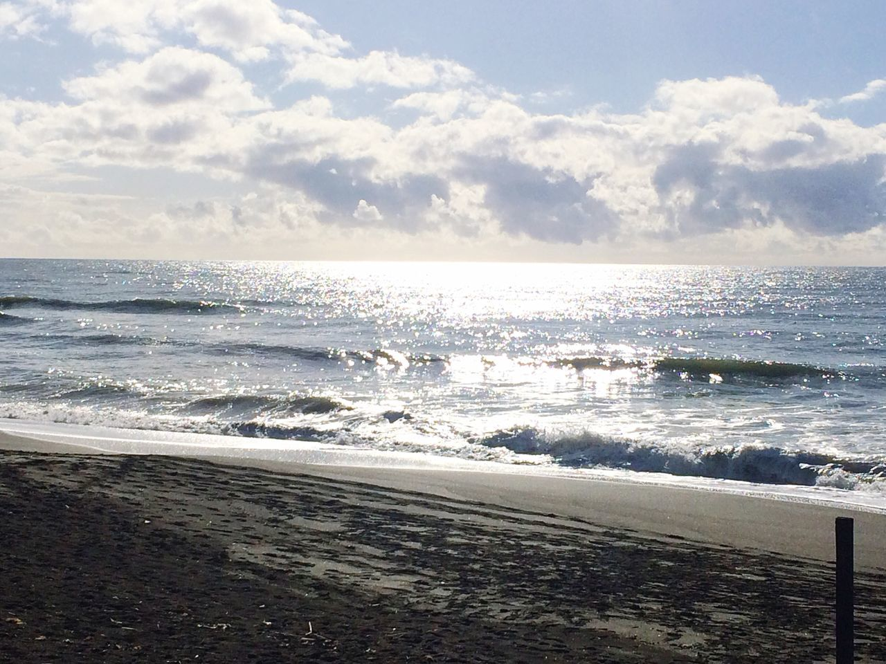 Morning Light Morning Sky December Morning Rome Italy Feeling Thankful Feelingblessed Happiness Relaxing Sea Beach Horizon Over Water Nature Water Wave Sky Scenics Surf Beauty In Nature Tranquil Scene Cloud - Sky Tranquility Travel Destinations Outdoors No People Sand Day Tide