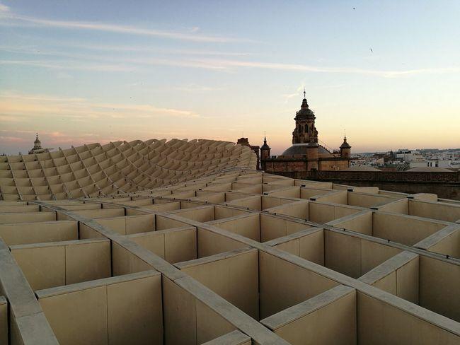 EyeEm Selects History Architecture Travel Travel Destinations Landscape Sunset Outdoors No People Sevilla Andalucía