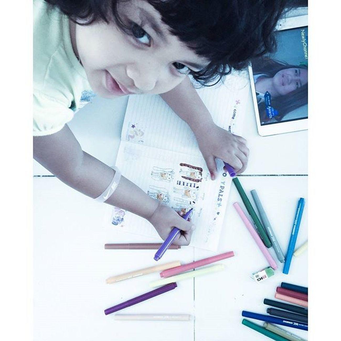 Vanyalodya Momipoklittlegirl Superedgykid Kidsartist hasiljepretanoomajaib Capture by @andhiquarzia