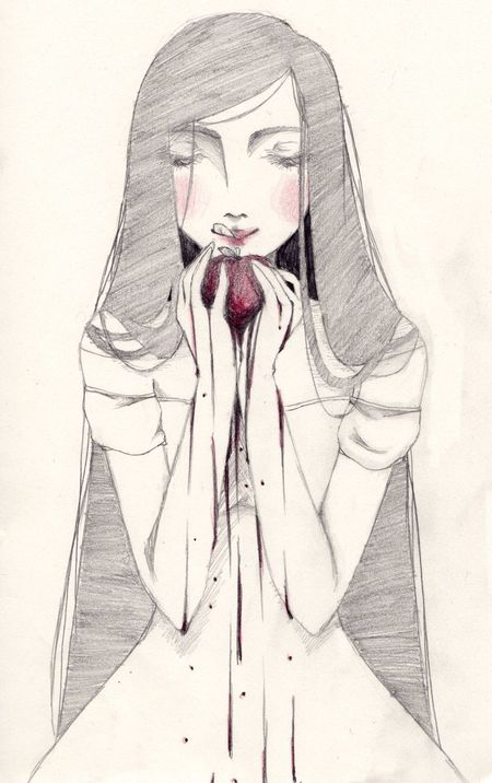 MyArt Art Drawing Snow White Fairy Tale Beautiful Schneewittchen