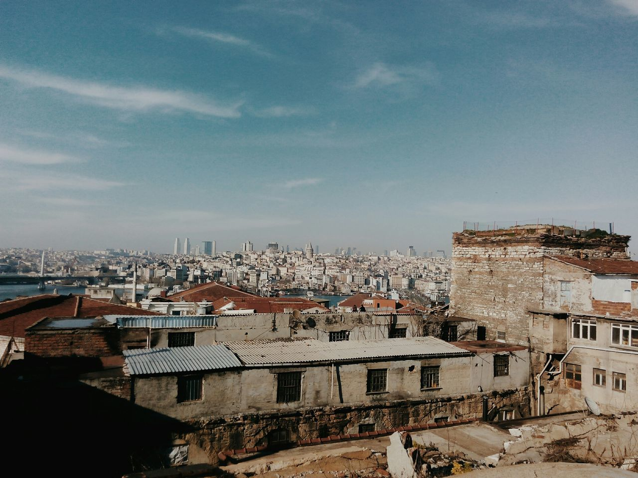 Istanbul City Taking Photos Looking Into The Future Historical Building City EyeEm Gallery VSCO OpenEdit Galatakulesi Old Things