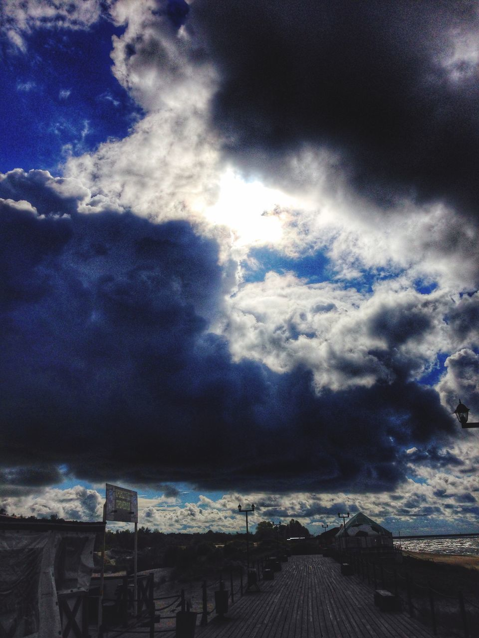 cloud - sky, weather, sky, nature, no people, scenics, day, beauty in nature, outdoors, tranquil scene, tranquility, blue, storm cloud