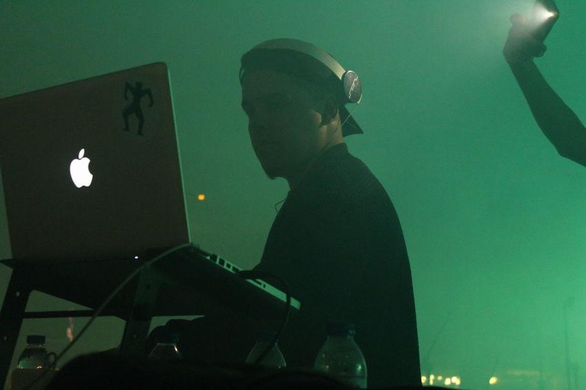 Arts Culture And Entertainment Dj Illuminated Lifestyles Lights Music Music Music Festival Night Shadows Smoke