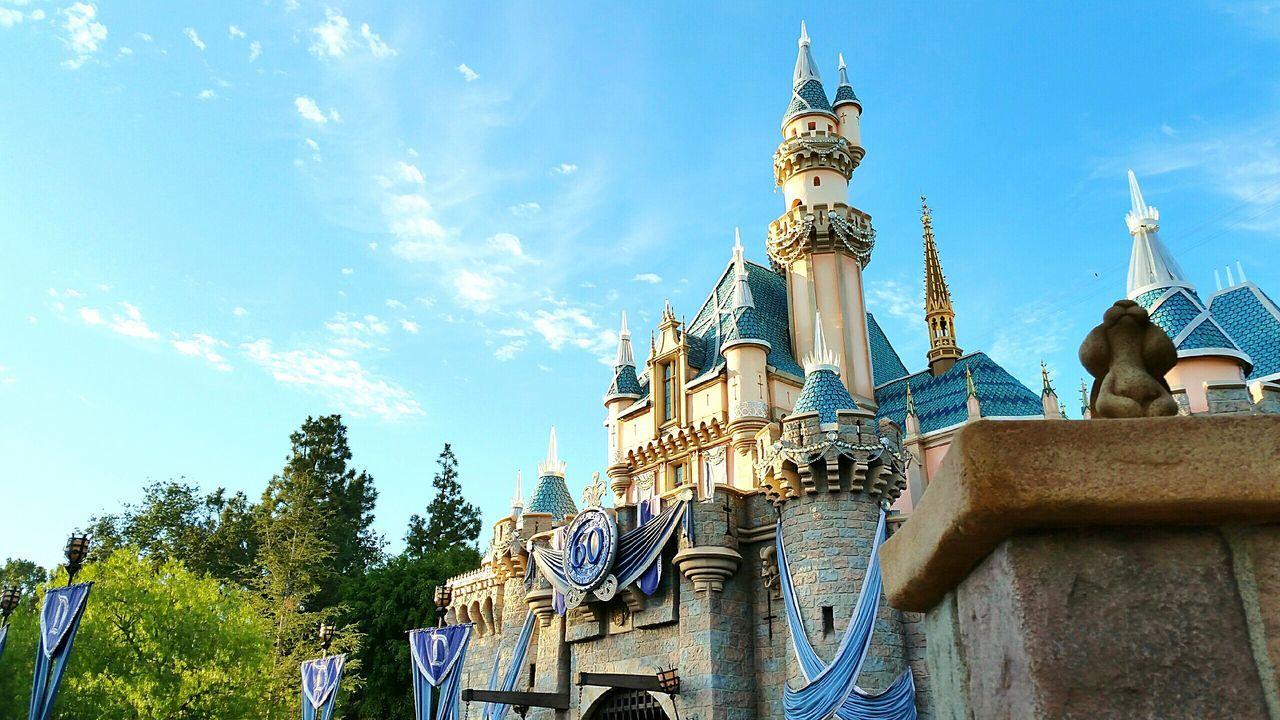 Disneyland Disneyland California Southern California California Diamond Celebration Disneyland Diamond Celebration Disneyland Castle Sleeping Beauty Castle Castle EyeEm Best Shots Eye4photography  EyeEmBestPics