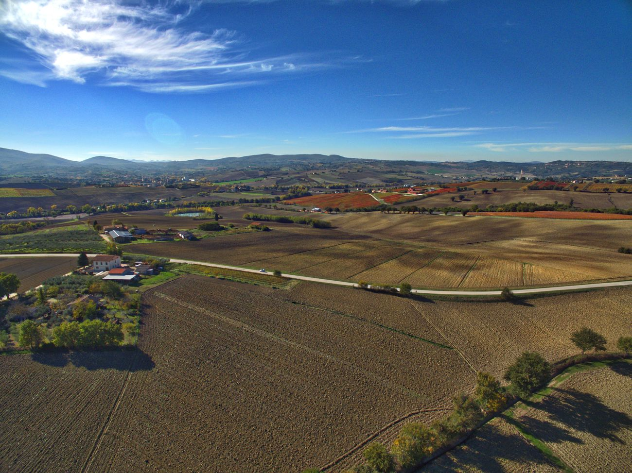 Showcase: February Dji DJI Phantom 3 Advanced Dronephotography Drone  Hello World Arial Shot Umbria Campagne