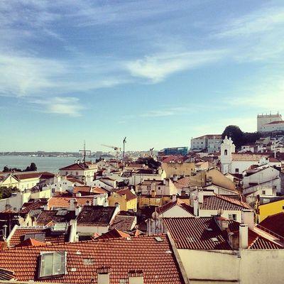 Vista from the Miradouro . Latergramming Alfama lisbonlife Lisboa igerslisboa Lisbon